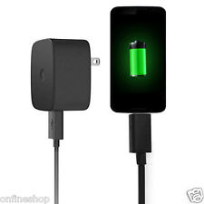 TurboPower Home Wall Fast AC Charger + Cable For Motorola DROID TURBO2 / MOTO X