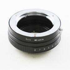 Minolta MD Objektiv adapter für Micro 4/3 Tilt Kipplinse Olympus Panasonic M43