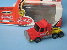 Matchbox Scania T142 Truck Coca-Cola Coke Toy Model Truck 75mm