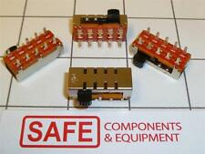 PIC Side Slide Power Switch 4 Pos WK-14H01 1P4T Sldr Mnt QTY-1 On-On-On-On CA34