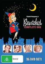 BEWITCHED - THE COMPLETE BOX SET - SEASON 1 - 8 (35 DVD SET) BRAND NEW! SEALED!!