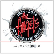 40 Years Of Rock; V2: Greatest Live Hits, 2014  The Angels CD NEW