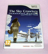Nintendo Wii Game - The Sky Crawlers: Innocent  Aces