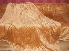 LUXUS Kuscheldecke Tagesdecke Wohndecke Decke Plaid gold 160x200cm