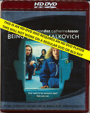 BEING JOHN MALKOVICH Cameron Diaz John Cusack  HD DVD  Flat Rate Tracked Post