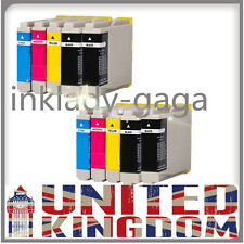 10 Ink Cartridge For Brother LC-970 DCP 540CN 560CN 750CW 770CW