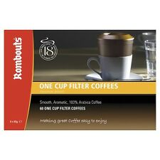 120 Rombouts Original Blend  One Cup Filter Coffees Free UK Delivery