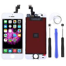 Neu Retina LCD Display Touch Screen Scheibe Glas Für iPhone 5S + Werkzeug Weiß