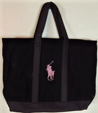 Ralph Lauren Pony Canvas Handbag Pink