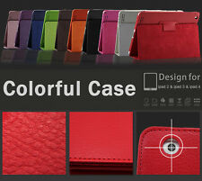 Magnetic PU Leather Case Skin New Smart Cover Stand for Apple iPad 2 3 4