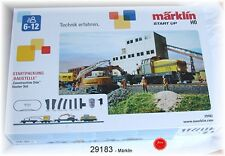 "Märklin 29183 Starter set ""Construction site"" with diesel locomotive DHG 500 #"