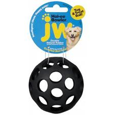 JW Pet Hol-ee Bowler Durable Rubber Dog Play Fetch Ball Toy -- Small
