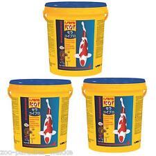21 kg sera KOI Professional Sommerfutter Fischfutter Teichfische -- 3 Eimer