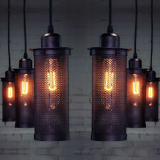 Metall Antik Stil Vintage Industrial Deckenlampe Industrielampe Hängeleuchte E27
