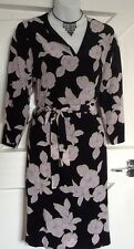 Paul Smith Floral Dress , Black Collection Size 8 / 38 New