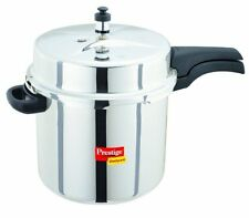 NEW Prestige Deluxe Stainless Steel Pressure Cooker, 10 Liters - Free Shipping