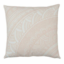 Pink Lace Cushion Cover - 45cm pillow decor handdrawn intricate pattern floral