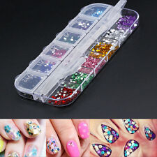 3600X Bling Nail Art Transfer Stickers 3D Manicure Tips DIY Decal Decorations