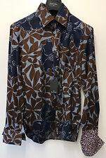 Paul Smith PS Hemd Mit Doppelmanschette Größe M Achselhöhle zu 52.1cm