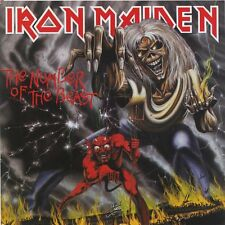 IRON MAIDEN - THE NUMBER OF THE BEAST CD ALBUM (Enhanced & Remastered 1998)