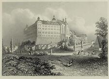 Das Schloß zu Altenburg. A. H. Payne, um 1840
