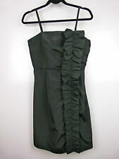 GUESS Sz S, 8 Dress Black LBD Party cocktail Ruffle feature