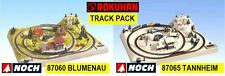 Track Pack Noch 87060 87065 Rokuhan Z Scale UPDATED ENGLISH PLAN *in USA $0 SHIP