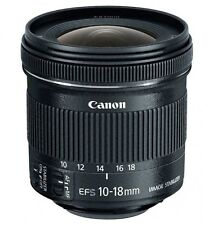 New Canon EF-S 10-18mm F4.5-5.6 IS STM