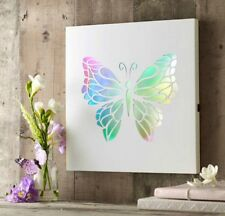 Brand New Light Up Colour Changing Butterfly Picture Frame Home Decor