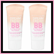 8 x Maybelline Dream Fresh BB 8-in-1 Beauty Balm Medium Sheer Tint Free Post!