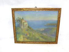 Pastell Bild im Rahmen um 1900 Italien Capri
