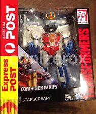 Aus Seller - Transformers Combiner Wars Starscream Leader Class NEW