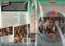 THE NEVILLE BROTHERS -Tell It Like It Is -VHS -PAL -NEW & SEALED - Never Played!