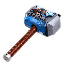 Avengers Thor LIGHT Hammer cosplay model toy Avengers Age of Ultron figure #AC01