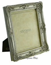 """Shabby & Chic Vintage Very Ornate Antique Silver Photo frame for  10""""x8"""" Picture"""
