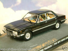 DIECAST 1/43 JAMES BOND 007 FORD TAUNUS (CORTINA) IN BLACK: THE SPY WHO LOVED ME