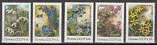UdSSR / CCCP Nr. 5278-5282** Frühlingsblumen