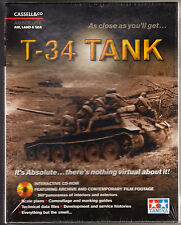T-34 TANK - INTERACTIVE CD-ROM - WWII FIGHTS HITLER'S PANZERS - NEW & SEALED