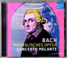 BACH Musikalisches Opfer Musical Offering BWV 1079 & 1038  CONCERTO MELANTE CD