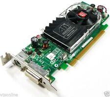 Low Profile Y103D ATI Radeon HD3450 256MB PCI-E Dual Screen VideoCard 4 Dell HP