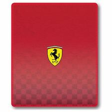 FERRARI LARGE FLEECE BLANKET THROW NEW OFFICIAL SPORTS CAR