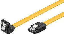 SATA 6 Gb/s High Speed Kabel gewinkelt Metallclip 0,3 m