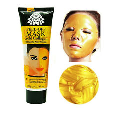 120 ml Gold Collagen Mask Skin Care Wrinkle Anti-Aging Facial Whitening Firming