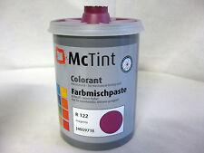McTint Farbmischpaste zum Abtönen / Wandfarbe R122 , 1 Liter R 122 magenta