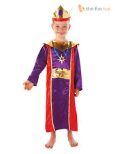 Age 5-6 Kids Wise Man Three King Costume Christmas Nativity Fancy Dress Boys