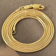Mens womens couple 18K Gold filled long vintage Necklace jewellery free shipping