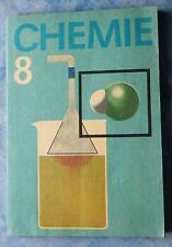 Schulbuch Chemie Lehrbuch Klasse 8 Ion Moleküle Metalle Silicium Kalkstein 1990