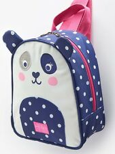 Joules Junior Buddie Girls Panda Rucksack / Cool Bag