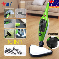 Large Capacity 10 In 1 Steam Mop Handheld Steamer Cleaning Cleaner Floor Carpet