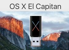 Apple Mac OS X 10.11.6 El Capitan Fresh Install / Recovery  -Bootable USB Drive